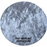 grey moonlight crushed velvet